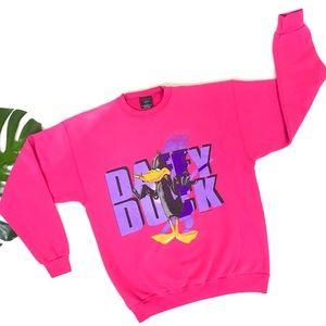 Vintage 1994 Daffy Duck looney tunes sweatshirt
